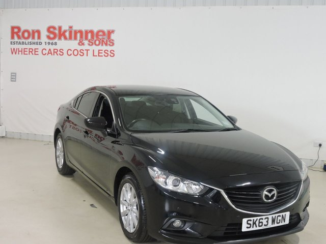 View our 2013 63 MAZDA 6 2.0 SE-L NAV 4d 143 BHP