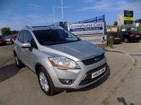 2009 FORD KUGA 2.0 TITANIUM TDCI AWD 5d 134 BHP £8295.00