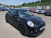 USED 2016 66 MINI HATCH COOPER 1.5 COOPER 3d 134 BHP Metallic Black, Black half leather, climate, interior lighting & more