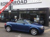 2005 AUDI TT 1.8 ROADSTER 2d 148 BHP £3795.00