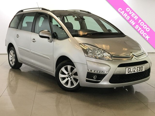 View our 2012 12 CITROEN C4 GRAND PICASSO 1.6 E-HDI VTR PLUS EGS 5d AUTO 110 BHP