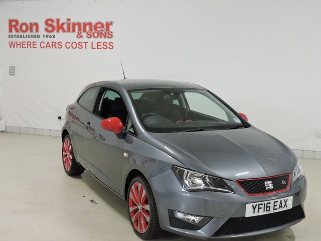 View our 2016 16 SEAT IBIZA 1.2 TSI FR RED EDITION TECHNOLOGY 3d 109 BHP