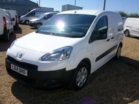 USED 2014 14 PEUGEOT PARTNER 1.6 HDI PROFESSIONAL L1 625 1d 74 BHP 67000 MILES AIR/CON ONE OWNER FROM NEW FULL SERVICE HISTORY