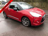 USED 2015 DS DS 3 1.2 PURETECH DSTYLE NAV S/S 3d 109 BHP EXCELLENT DRIVER, GREAT FUEL ECONOMY, IDEAL FIRST CAR