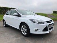 2014 FORD FOCUS 1.6 ZETEC 5d AUTO 124 BHP £7995.00