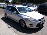 USED 2010 60 FORD MONDEO 2.0 ZETEC TDCI 5d 138 BHP AFFORDABLE  FAMILY ESTATE CAR IN EXCELLENT CONDITION, DRIVES SUPERBLY WITH EXCELLENT SERVICE HISTORY !!
