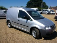 USED 2008 08 VOLKSWAGEN CADDY 1.9 C20 TDI SWB 1d 103 BHP AIR/CON ELECTRIC PACK ONE OWNER FROM NEW