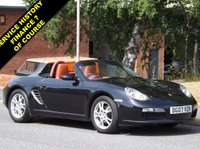 USED 2007 07 PORSCHE BOXSTER 2.7 24V 2d 242 BHP Boxter 2.7 . Two Keys , Leather interior