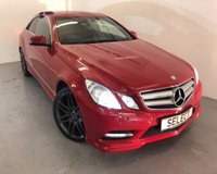 2011 MERCEDES-BENZ E CLASS 2.1 E220 CDI BLUEEFFICIENCY SPORT ED125 2d AUTO 170 BHP £12999.00