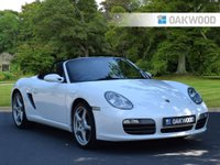 2007 PORSCHE BOXSTER 3.4 24V S TIPTRONIC S 2d manual 295 BHP £SOLD
