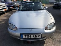 1999 MAZDA MX-5 1.8 I 2d 137 BHP JULY 19 MOT - NO WARRANTY £SOLD