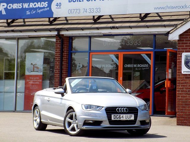 USED 2014 64 AUDI A3 2.0 TDI SPORT CABRIOLET 2dr (148)  * 1 Private Owner + Full Audi S/H *