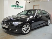USED 2014 64 BMW 5 SERIES 2.0 520d SE 4dr AUTO