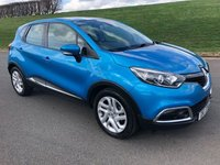 USED 2015 RENAULT CAPTUR 1.5 DYNAMIQUE MEDIANAV ENERGY DCI S/S 5d 90 BHP EXCELLENT CONDITION, ZERO TAX, EXCELLENT FUEL ECONOMY