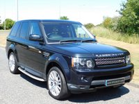 USED 2011 61 LAND ROVER RANGE ROVER SPORT 3.0 SDV6 HSE 5d AUTO 255 BHP SAT NAV, FRONT TV, DAB RADIO