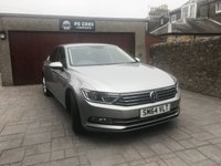 2015 VOLKSWAGEN PASSAT 2.0 SE BUSINESS TDI BLUEMOTION TECHNOLOGY 4d 148 BHP £11995.00