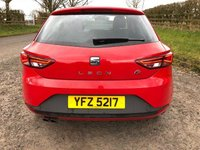 USED 2015 SEAT LEON 1.4 TSI FR TECHNOLOGY 3d 150 BHP FIRST CLASS DRIVER, IN GREAT CONDITION THROUGHOUT