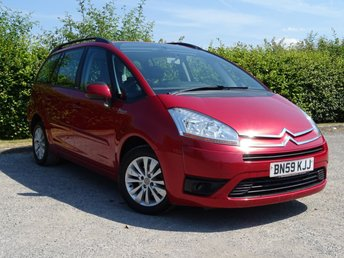 2009 CITROEN C4 GRAND PICASSO 1.6 VTR PLUS HDI EGS 5d AUTOMATIC £3500.00
