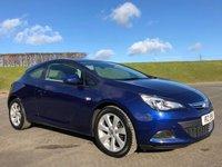 2014 VAUXHALL ASTRA 1.4 GTC SPORT S/S 3d 138 BHP £7250.00