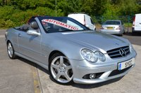 USED 2007 07 MERCEDES-BENZ CLK 3.5 CLK350 AMG SPORT 2d AUTO 269 BHP HUGE SPEC CAR ~ HEATED & COOLED LEATHER ~ SAT NAV ~ AMG PACK ~ LOW MILEAGE
