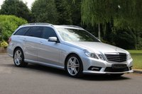 USED 2011 61 MERCEDES-BENZ E CLASS 3.0 E350 CDI BLUEEFFICIENCY SPORT ED125 5d AUTO 265 BHP