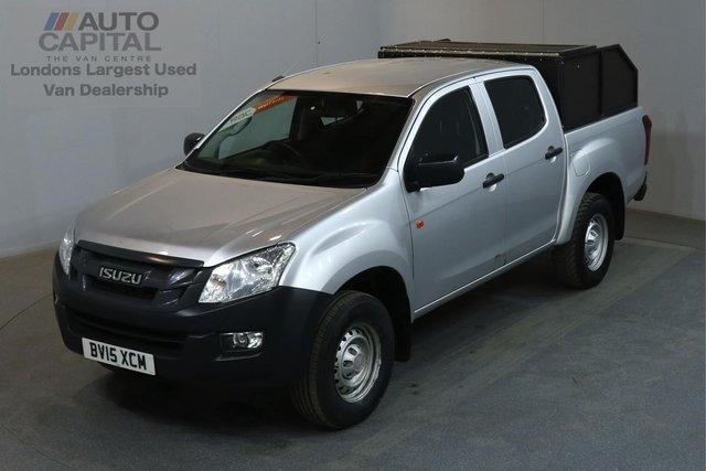 2015 15 ISUZU D-MAX 2.5 TD DCB 164 BHP A/C ONE OWNER FROM NEW, FULL SERVICE HISTORY