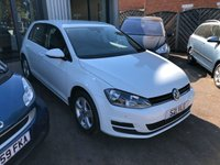 2015 VOLKSWAGEN GOLF 1.6 MATCH TDI BLUEMOTION TECHNOLOGY 5d 103 BHP £SOLD