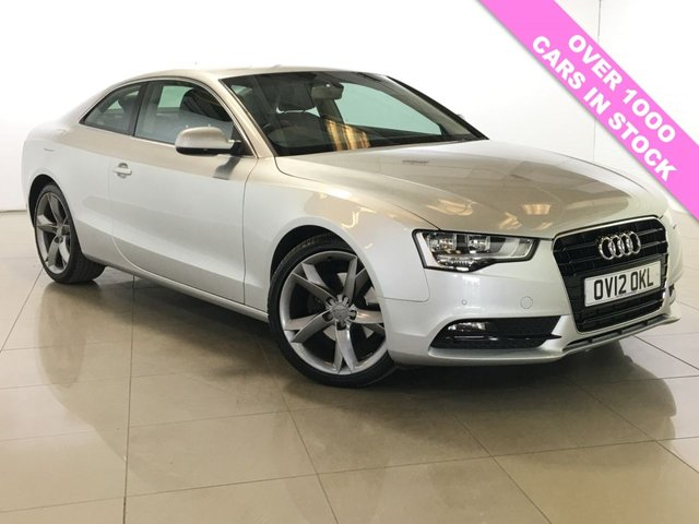 View our 2012 12 AUDI A5 2.0 TDI SE 3d 177 BHP