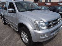 2005 ISUZU RODEO 3.0 DENVER MAX TD 4X4 D/C 1d AUTO 131 BHP £5695.00