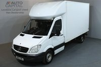USED 2013 13 MERCEDES-BENZ SPRINTER 2.1 313 CDI 129 BHP LWB  LUTON VAN NO VAT ENGINE PROBLEM(LOUD ENGINE SOUND)