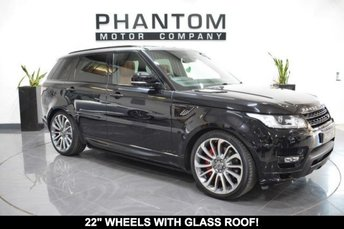 2014 LAND ROVER RANGE ROVER SPORT 3.0 SDV6 AUTOBIOGRAPHY DYNAMIC 5d AUTO 288 BHP £46990.00