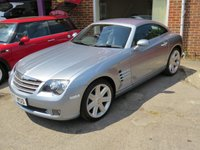 USED 2007 07 CHRYSLER CROSSFIRE 3.2 V6 2d AUTO 215 BHP AUTOMATIC LOW MILEAGE, MANY EXTRAS.FINANCE ME TODAY-UK DELIVERY POSSIBLE