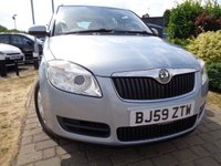USED 2009 59 SKODA ROOMSTER 1.4 SE 16V 5d 85 BHP **Full Service History 7 Services Panoramic Roof 12 Months Mot**