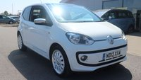 2012 VOLKSWAGEN UP 1.0 UP WHITE 3d 74 BHP £5695.00