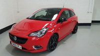 USED 2015 65 VAUXHALL CORSA 1.4 LIMITED EDITION 3d 89 BHP 2 Previous Owners/Low Insurance/17 In Alloys/VXR Looks