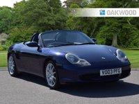 2003 PORSCHE BOXSTER 3.2 24V S 2d 260 BHP £7495.00