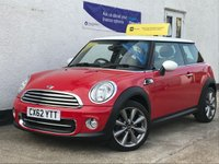 USED 2012 62 MINI HATCH COOPER 1.6 COOPER LONDON 2012 EDITION 3d 120 BHP