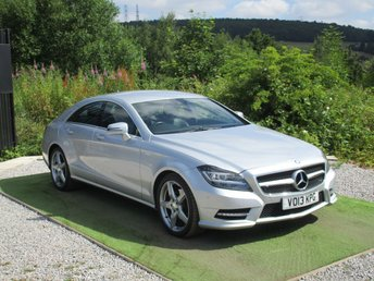 2013 MERCEDES-BENZ CLS CLASS 2.1 CLS250 CDI BLUEEFFICIENCY AMG SPORT 4d AUTO 204 BHP £13890.00