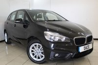 USED 2015 15 BMW 2 SERIES ACTIVE TOURER 2.0 218D SE AT 5DR AUTOMATIC 148 BHP SAT NAV FULL BMW SERVICE HISTORY + HEATED LEATHER SEATS + SAT NAVIGATION + PANORAMIC ROOF + REVERSE CAMERA + BLUETOOTH + CRUISE CONTROL + CLIMATE CONTROL + 16 INCH ALLOY WHEELS