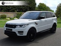 USED 2016 66 LAND ROVER RANGE ROVER SPORT 3.0 SDV6 HSE 5d AUTO 306 BHP 2017 MODEL YEAR VAT QUALIFYING VAT QUALIFYING  BLACK PACK