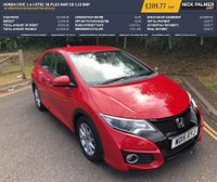 USED 2015 15 HONDA CIVIC 1.6 I-DTEC SE PLUS NAVI 5d 118 BHP HI SPECIFICATION NAVIGATION SE PLUS