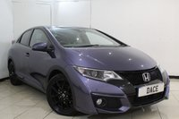 USED 2015 15 HONDA CIVIC 1.6 I-DTEC SPORT 5DR 118 BHP SERVICE HISTORY + BLUETOOTH + REVERSE CAMERA + CRUISE CONTROL + MULTI FUNCTION WHEEL + CLIMATE CONTROL + 17 INCH ALLOY WHEELS