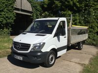 2015 MERCEDES-BENZ SPRINTER 2.1 313 CDI 1d 129 BHP 6 SPEED 130 BHP MODEL, 1 OWNER £12995.00