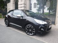 USED 2012 62 CITROEN DS3 1.6 E-HDI AIRDREAM DSPORT 3d 111 BHP ****FINANCE ARRANGED***PART EXCHANGE***FULL LEATHER***