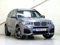 2014 BMW X3 3.0 XDRIVE35D M SPORT PLUS 5d AUTO 309 BHP [OYSTER LEATHER - HUGE SPEC] [VAT Q] £24256.00