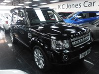 2015 LAND ROVER DISCOVERY 3.0 SDV6 HSE 5d AUTO 255 BHP £33999.00