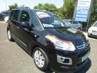 2013 CITROEN C3 PICASSO 1.6 PICASSO EXCLUSIVE HDI 5d 115 BHP £6450.00