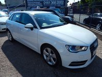 USED 2013 13 AUDI A3 1.6 TDI SPORT 5d 104 BHP AIR CONDITIONING, CD, BLUETOOTH, ALLOYS, F.S.H, CHEAP ROAD TAX.