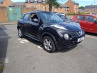 USED 2014 L NISSAN JUKE 1.5 VISIA DCI 5d 110 BHP CHEAP TO RUN, LOW CO2, EXCELLENT FUEL ECONOMY, ONLY £20 ROAD TAX, AND FULL HISTORY!..WITH ALLOY WHEELS,AIR CONDITIONING, AUXILLIARY/USB, AND 31251 MILES ONLY!