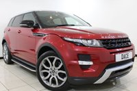 USED 2013 13 LAND ROVER RANGE ROVER EVOQUE 2.2 SD4 DYNAMIC 5DR 190 BHP SAT NAV Pan Roof Full Service History  FULL SERVICE HISTORY + HEATED LEATHER SEATS + SAT NAVIGATION + PARKING SENSOR + BLUETOOTH + CRUISE CONTROL + MULTI FUNCTION WHEEL + CLIMATE CONTROL + 20 INCH ALLOY WHEELS